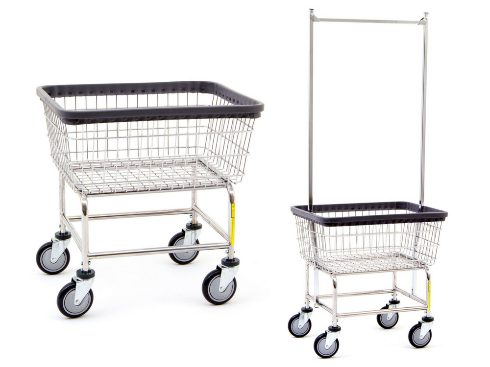 R&B Wire laundry cart products by Advanced Laundry Systems, New York's #1 commercial laundry distributor, providing the best commercial laundry equipment, including washing machines, dryers, and laundromat payment systems and ancillary items. We proudly serve laundry businesses throughout greater New York. Advanced Laundry Systems can outfit your NYC laundromat business with the best coin laundry machines, laundromat supplies, and repair services. We also provide on-premises laundry solutions for commercial laundries, hotels, hospitals, restaurants, and more. We distribute Electrolux, Wascomat, Crossover, Dexter, and LG commercial laundry equipment.
